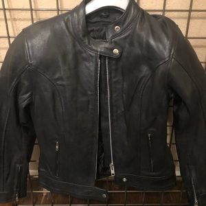 AVG SPORT Leather Jacket